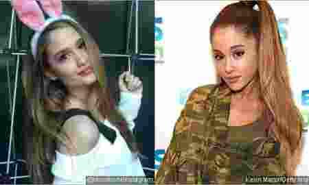 Cinta Laura Makin Mirip Ariana Grande
