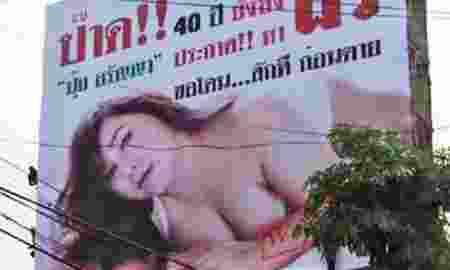Selebritis Cantik Ini Pasang Iklan Billboard Untuk Cari Suami