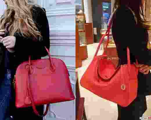Seperti ini tas Hermes Lindy dan Bolide yang dibawa para istri anggota Dewan d66333881e