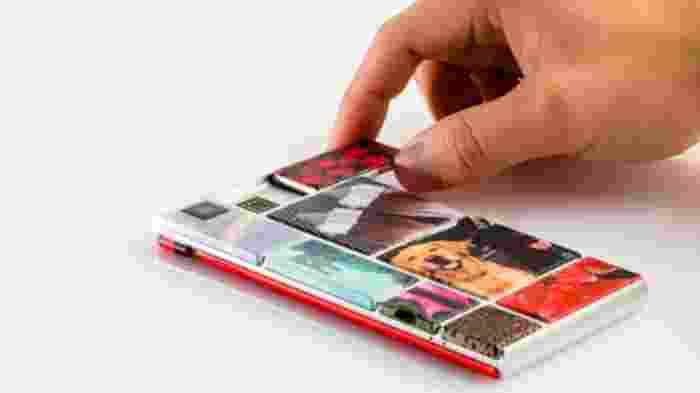 Ponsel Pintar yang bisa dibongkar Pasang Akan dijual Google