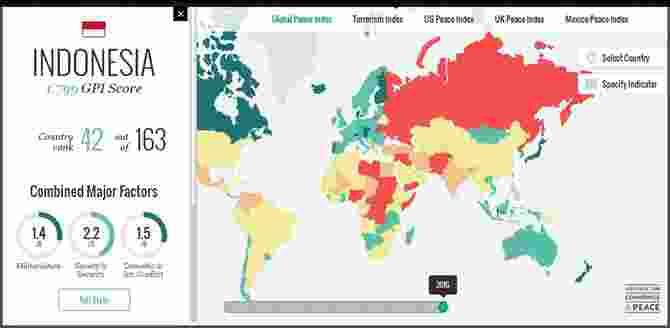 Berikut 10 negara paling aman dan damai di dunia