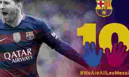 Hashtag #WeAreAllLeoMessi Bully Netizen ke Lionel Messi