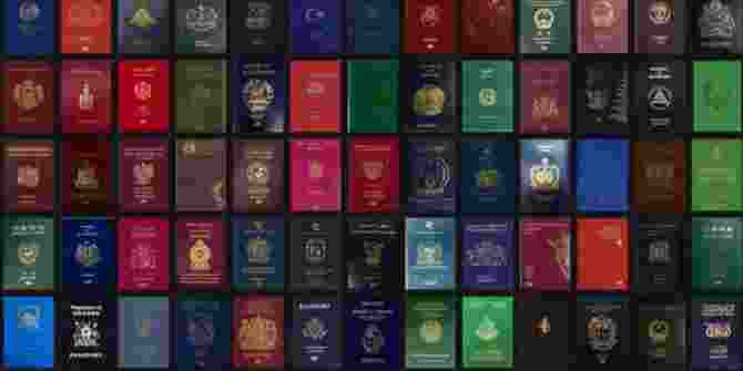Macam-Macam Paspor Berdasarkan Warna