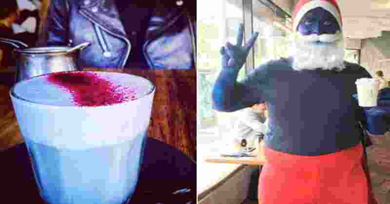 Smurf latte Atau Kopi Latte Berwarna Biru Jadi Tren di Australia