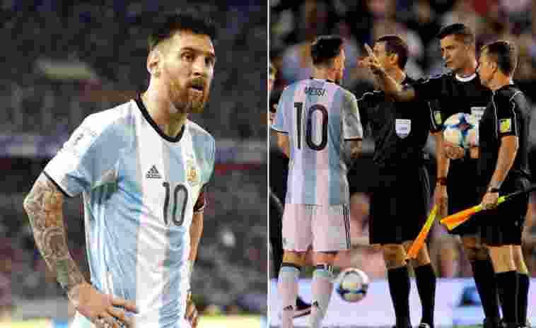 Lionel Messi Dihukum Larangan 4x Pertandingan Karena Hina Wasit