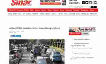 Pujian Untuk Presiden Jokowi dari Media Berita Malaysia