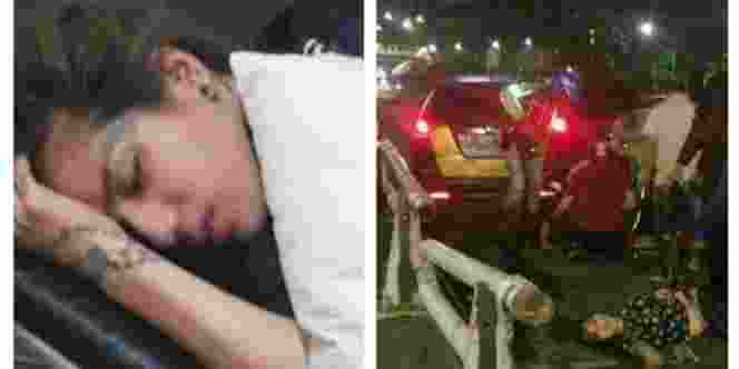 Alami-Kecelakaan-Mobil-di-Semanggi-Sheila-Marcia-Luka-Parah