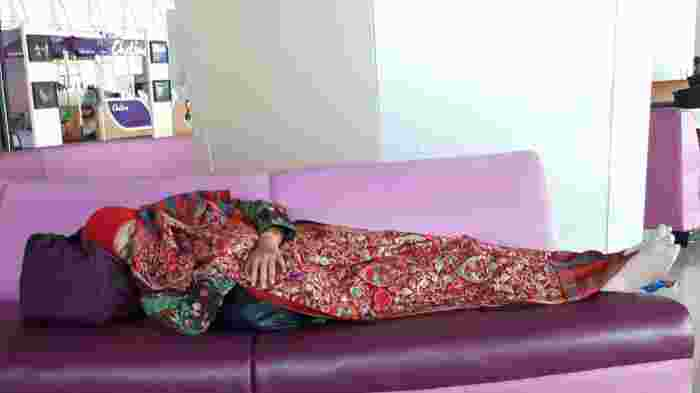 Benarkah Hanya Pencitraan Deretan Menteri Jokowi Tertidur Lelap di Bangku2