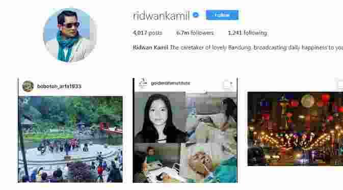 Ini Deretan Kepala Daerah Terpopuler di Instagram1