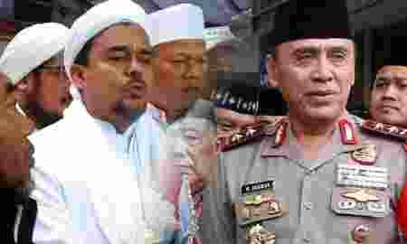kelanjutan kasus Habib Rizieq di tangan Kapolda Metro baru