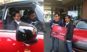Dengan Uang 12 Ribu Bisa Membeli Mobil Mini Cooper