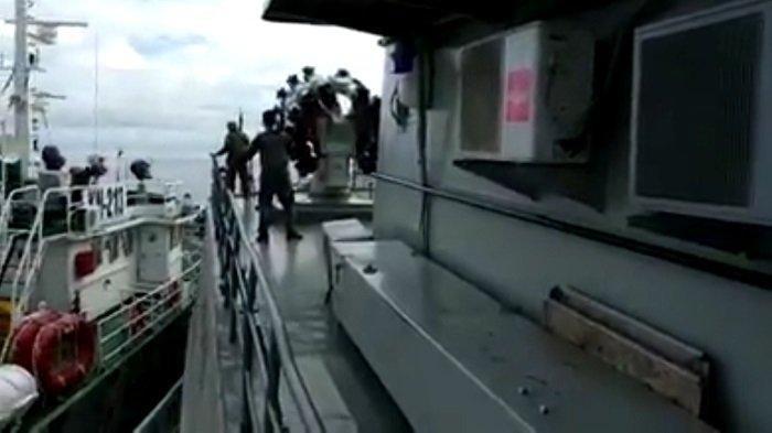Kapal Vietnam Hentikan Kapal TNI, Yang di Anggap langgar Laut Natuna