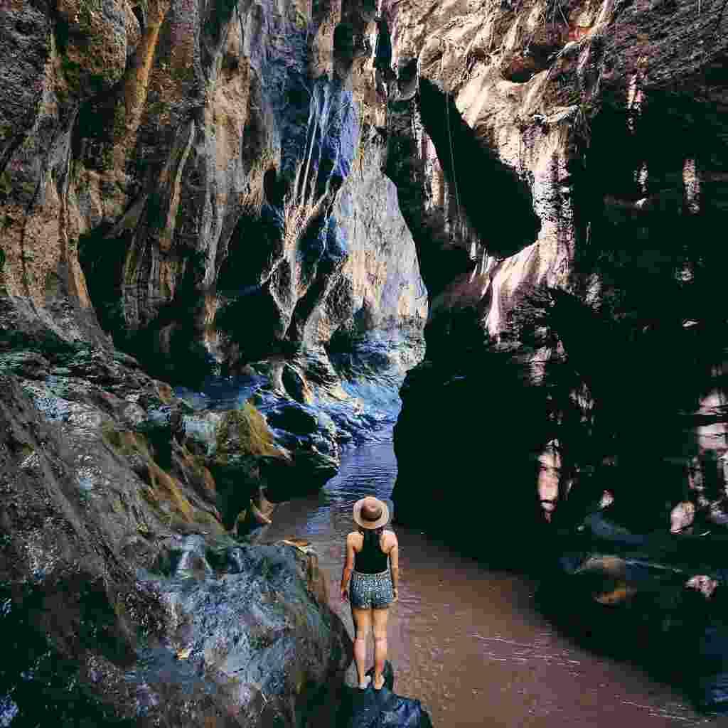 1. Hidden Canyon Beji Guwang