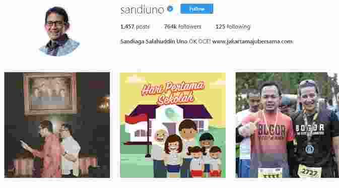 Ini Deretan Kepala Daerah Terpopuler di Instagram3