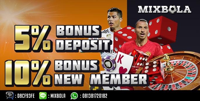 Deposit 5 mixbola