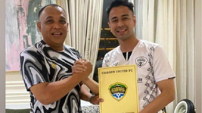 Beli Cilegon United, Raffi Ahmad Merambah Dunia Sepak Bola ...